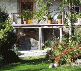 Buckhof Garten Tor