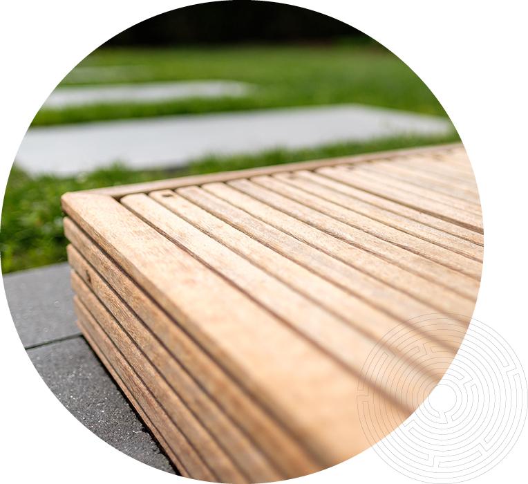 Terrasse Detail Holz